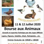 Manifestation Animalières JUILLET  2020